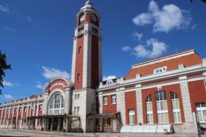 Scorcio della Stazione Centrale di Varna