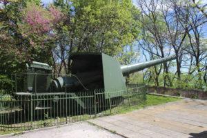 Un cannone...nel Sea Garden