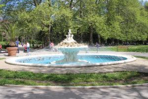 Una Fontana nel Sea Garden