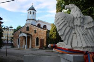 Particolare immagine della Chiesa Armena