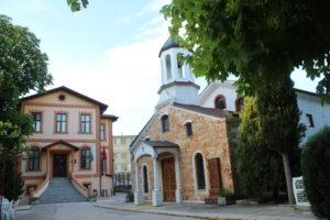 Il piccolo complesso della Chiesa Armena