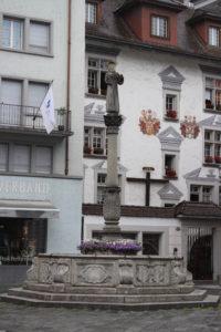 Fontana in Frazniskanerplatz - 1