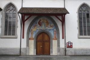 Dettaglio della Franziskanerkirche