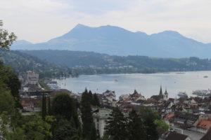 Il Lago dei Quattro Cantoni dall'alto