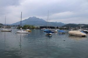 Il Lago dei Quattro Cantoni a Lucerna - 2