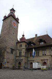 "Municipio di Lucerna - lato ""Kornmarkt"""