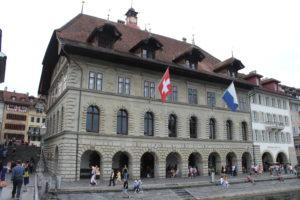 Municipio di Lucerna - lato fiume Reuss