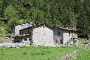 Esempi di costruzioni in Val di Mello
