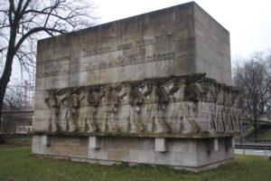 Memoriale di Guerra nel Dammtor park