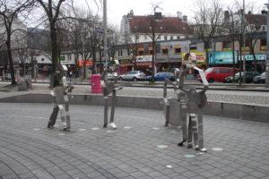 Monumento in Beatles-Platz