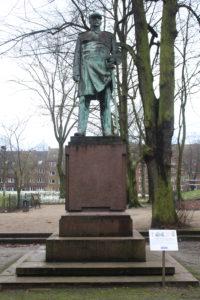 Otto von Bismarck nel distretto di Altona