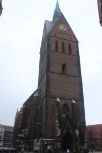 Facciata della Martkirche