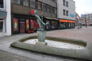 Fontana su Grupenstrasse