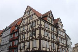 Case a graticcio nel centro storico di Hannover