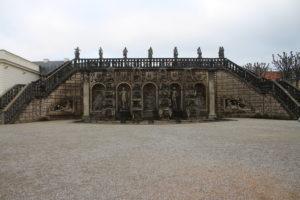 Giardini Reali di Herrenhausen - fontana a cascata