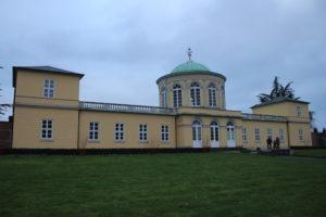 Un edificio del Giardino Botanico