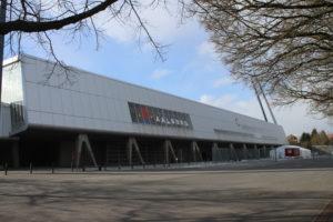 L'esterno della Nordjyske Arena