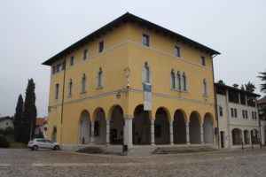 Palazzo che ospita la Pro Loco di Spilimbergo