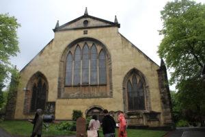 Grfeyfriars Church - retro
