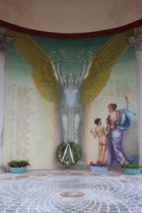 Monumento ai caduti - Il Dipinto Interno