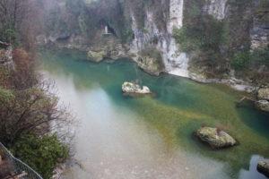 """Il Fiume """"Natisone"""" sotto al Ponte del Diavolo - 2"""