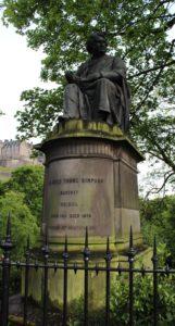 Statua di James Young Simpson