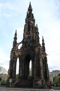 Scott's Monument: esterno