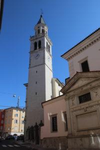 Cattedrale dei Santi Ilario e Tiziano - campanile