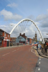 Il ponte su Newport Street
