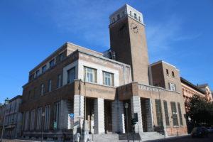 Edificio che ospita la Posta Centrale