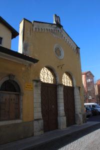 Ingresso dell'antica Sinagoga