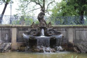 Dettaglio della Delphinbrunnen