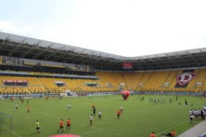 L'interno del DDV-Stadion