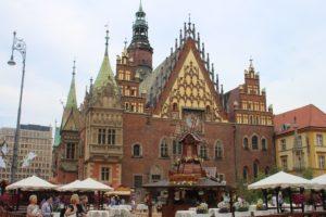 Retro del Municipio di Wroclaw