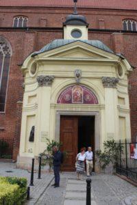Ingresso della Cattedrale dei Santi Giacomo e Vincenzo