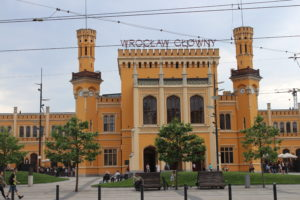 Scorcio della Stazione di Wroclaw