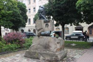 Statua dedicata a Ivan Pidkova