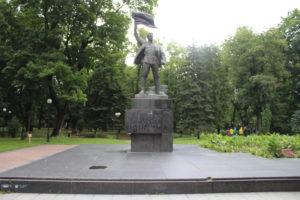 Monumento nel Mariinsky Park
