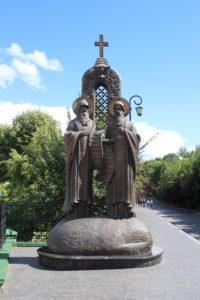Antonio e Teodosio...finalmente soli