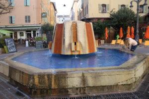 Fontana in Place Thiars