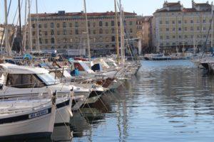 Scorcio del Porto di Marsiglia