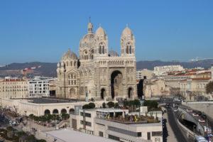 Cattedrale di Marsiglia dalla distanza