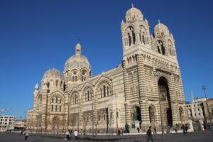 La Cattedrale di Marsiglia vista da vicino
