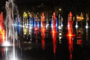 Fontana della Promenade du Paillon