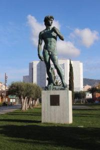 La copia del David di Michelangelo