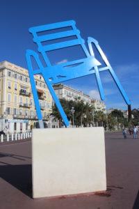 Monumento alla sedia da spiaggia
