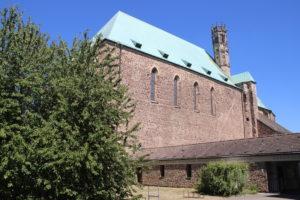 La migliore immagine della Wallonenkirche che riesco a prendere