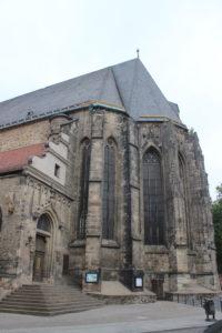 Quello che resta libero della Moritzkirche