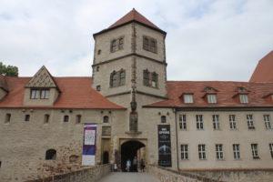 L'ingresso del Moritzburg