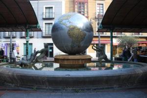 Fuente de la Bola del Mundo